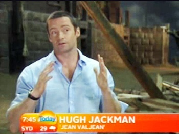 Aussie Throwdown! Les Miserables' Hugh Jackman On Punching Co-Star Russell Crowe