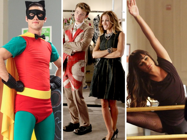 Glee Report Card: We Cast Our Vote on Sarah Jessica Parker, Rachels Makeover & Klaine