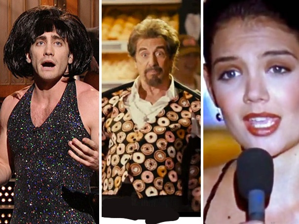 Sing Out, Dragtastic Jake Gyllenhaal! Five Must-See Musical Moments Starring Katie Holmes, Al Pacino & More
