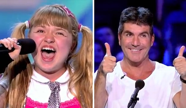 Simon Cowell 'Absolutely Hates' Annie?! Watch Broadway Hopeful Jordyn Foley Tackle 'Tomorrow' on The X Factor