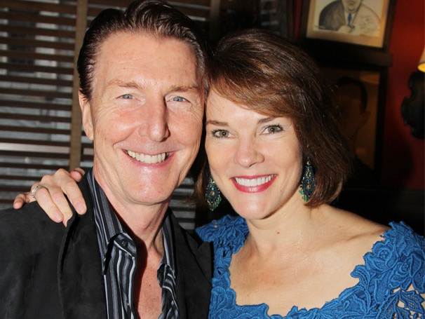 Ten Chimneys Stars Byron Jennings & Carolyn McCormick Celebrate the Legacy of the Lunts at Sardi's