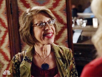 Watch Jackie Hoffman Insult Andrew Rannells and Talk Orgasms with Ellen Barkin on The New Normal