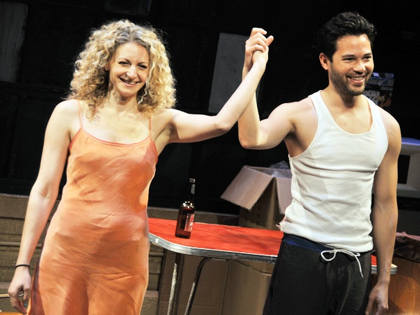 Lauren Molina, Jason Tam & Stephen Sondheim Celebrate Opening Night of Marry Me a Little