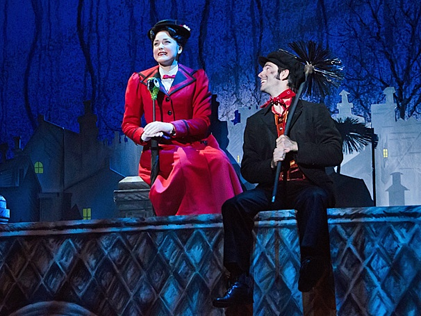 Everyone's Favorite Nanny Comes to Minneapolis! Mary Poppins Begins Performances