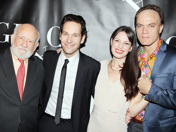 Paul Rudd, Ed Asner, Michael Shannon & Kate Arrington Celebrate the Heavenly Opening Night of Grace
