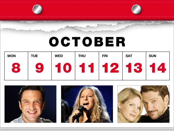 Introducing the Ultimate Datebook for Broadway Fans! This Week: Babs' Brooklyn Return, Virginia at 50, a New Tommy in Jersey & More!