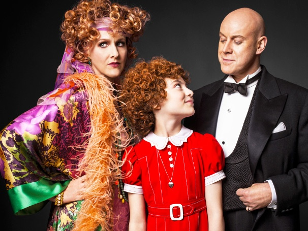 Annie Stars Katie Finneran, Anthony Warlow and Lilla Crawford Show Off Their Costumes in Vanity Fair