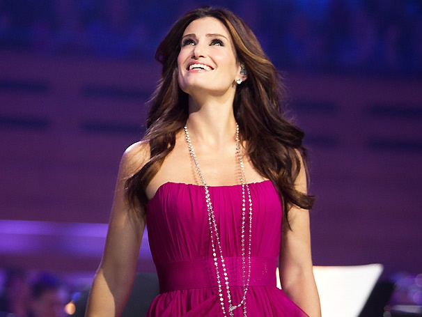 Idina Menzel Dishes on Glee, Funny Girl, Her London Concerts, a Possible Broadway Return & Much More