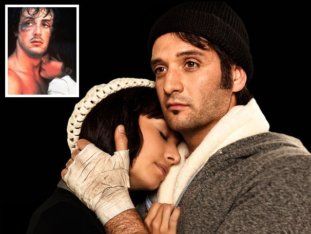 Yo! Get a Ringside Look at Drew Sarich as Rocky Balboa in Rocky the Musical