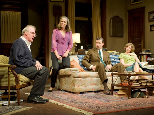 Get an Explosive First Look at the 50th-Anniversary Revival of Who's Afraid of Virginia Woolf?, Starring Tracy Letts & Amy Morton