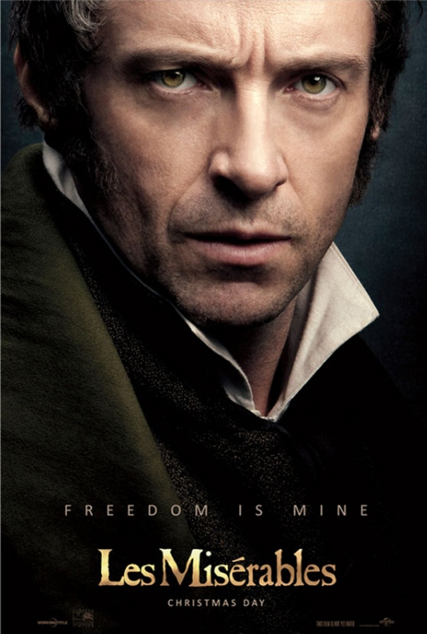 Hugh Jackman Fights for Freedom in New Les Miserables Poster