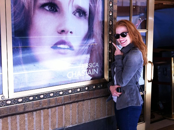 'It's Me on Broadway!' Jessica Chastain Shows Off Her Excitement at Starring in The Heiress