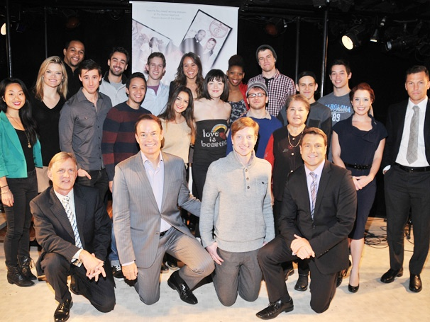 Have Pride! Jason Hite, Travis Wall & the Cast of Bare Celebrate National Coming Out Day