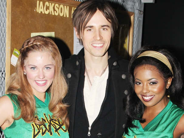 Spider-Man Star Reeve Carney Cheers on the Cheerleaders Backstage at Bring It On