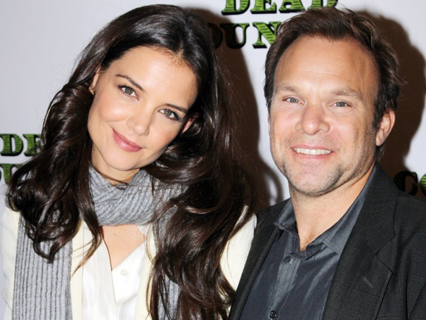 Meet Katie Holmes, Norbert Leo Butz and Their Big Midwestern Family in Dead Accounts