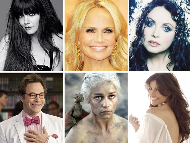 Katie Holmes Chows Down, Kristin Chenoweth Wants a Wicked Comeback & More Lessons of the Week