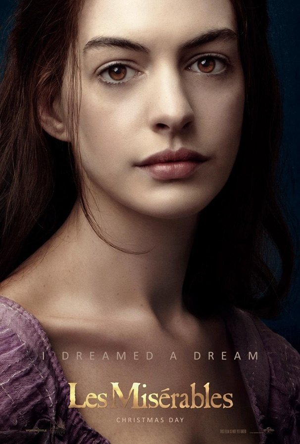Anne Hathaway is a Dream Come to Life in New Les Miserables Poster 