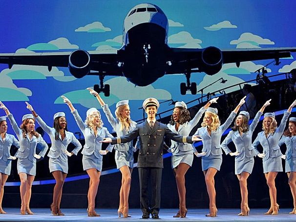 The Jet Set Has Arrived! National Tour of Catch Me If You Can Opens in Houston
