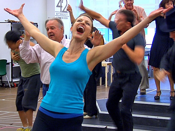 Get a 'De-lovely' Sneak Peek at Rachel York in Rehearsal for the National Tour of Anything Goes
