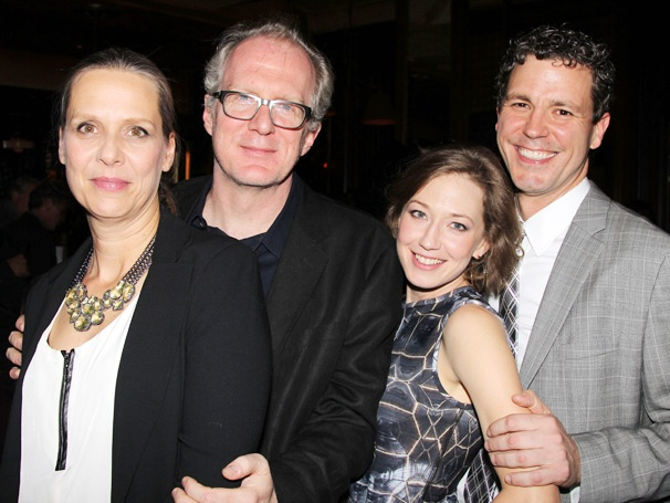 Get the Guests! Amy Morton, Tracy Letts & the Cast of Who's Afraid of Virginia Woolf? Celebrate a Fiery Opening Night