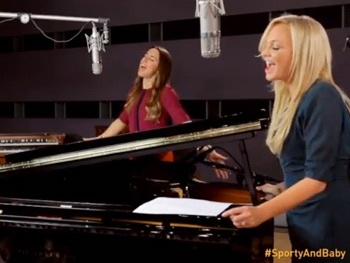 Watch Spice Girls Melanie Chisholm and Emma Bunton Duet on a Song from Chess