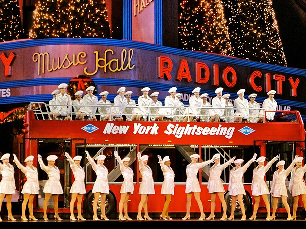 The Rockettes Kick Off the Holiday Season for the Opening of The Radio City Christmas Spectacular