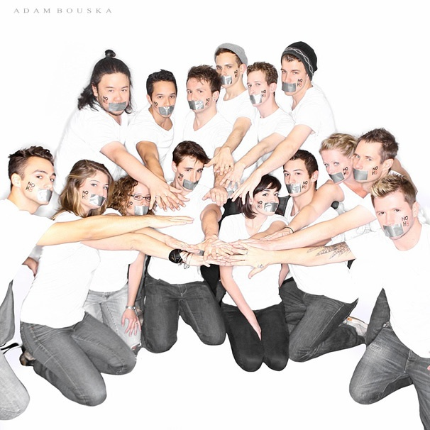 Sexy Bare Stars Taylor Trensch, Jason Hite & More Join the NOH8 Campaign