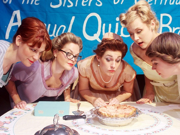 5 Lesbians Eating a Quiche to Keep on Cooking Off-Broadway Through January