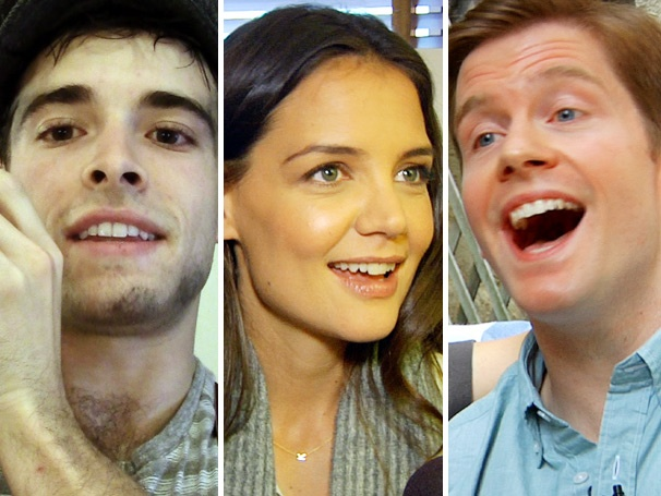 Top Five! Undercover Newsies Star, Hungry Katie Holmes, Dangerous Rory O'Malley & More Top This Week's Most-Watched Videos