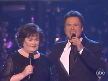 Watch Susan Boyle & Donny Osmond Belt Jekyll & Hydes This Is the Moment on Dancing With the Stars