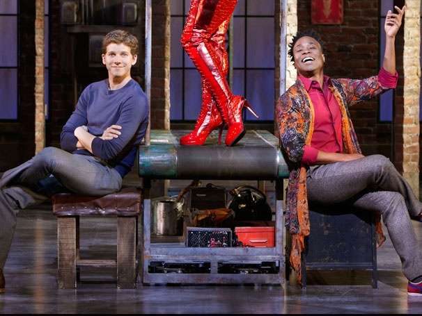 Get a Colorful First Look at Stark Sands and Billy Porter in the Broadway-Bound Musical Kinky Boots 