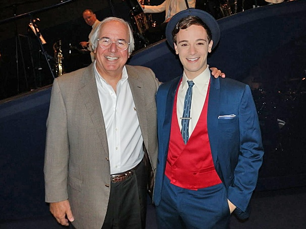 Strange but True! Frank Abagnale Jr. Visits the National Tour Cast of Catch Me If You Can