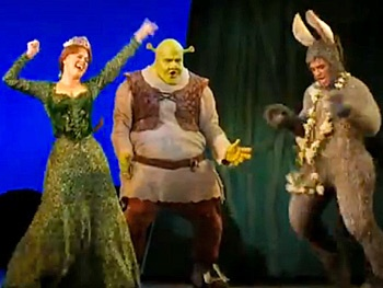 Watch the Tour Cast of Shrek Boogie Down in Scenes From ...
