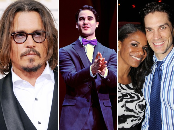 Top 10! Johnny Depp & the Bard, Darren Criss as a House Husband, Audra and Will's Romance & More Lead the Week's Most-Read Stories