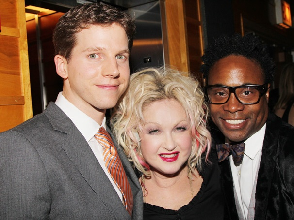 Diva! Check Out Cyndi Lauper & Her Sizzling Stars at Kinky Boots Chicago Opening
