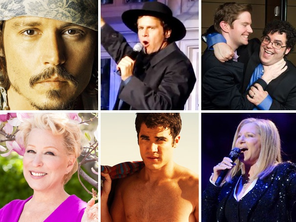Johnny Depp Gets His Bard On, Jonathan Groff Can Make Anything Sexy & More Lessons of the Week