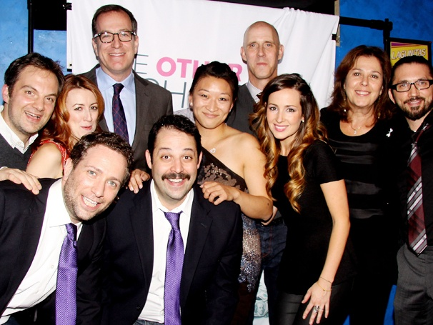 One Big Happy Jewish Family! The Cast of The Other Josh Cohen Celebrates Opening Night