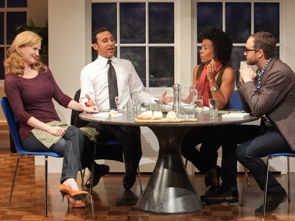 Disgraced, Starring Aasif Mandvi, Extends Off-Broadway Run