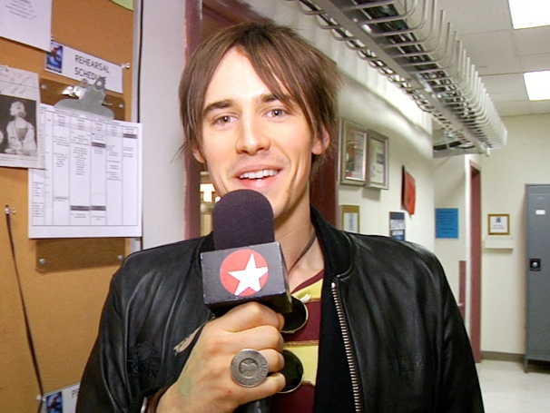 Star Reeve Carney Shows Off 'Crazy Gangsters,' Green Goblin Secrets and the 'A-Hole' Backstage at Spider-Man
