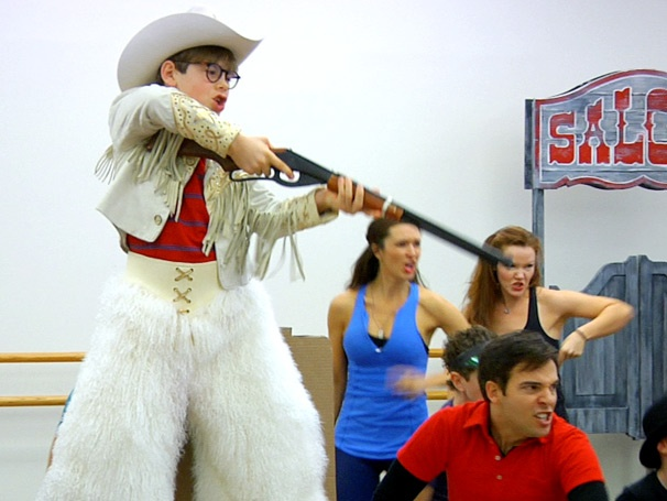 BB Guns and Leg-Shaped Lamps! Watch the Cast of A Christmas Story Get Into the Holiday Spirit in Rehearsal