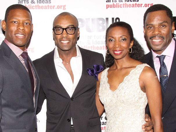 Colman Domingo & Co-Stars Go Wild With Happy on Opening Night at the Public Theater