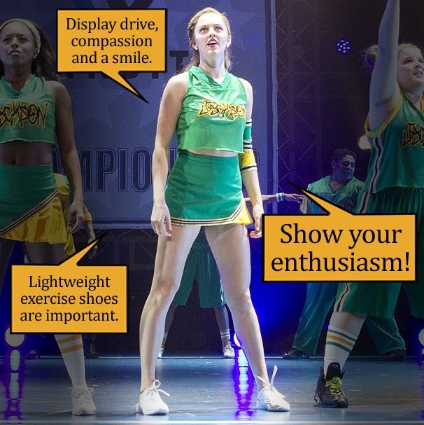 Taylor Louderman Highlights the Cheerleader Essentials for a High-Flying Halloween, Bring It On Style