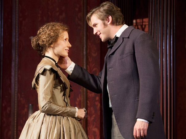 First Look at the Elegant World of The Heiress, Starring Jessica Chastain and Dan Stevens