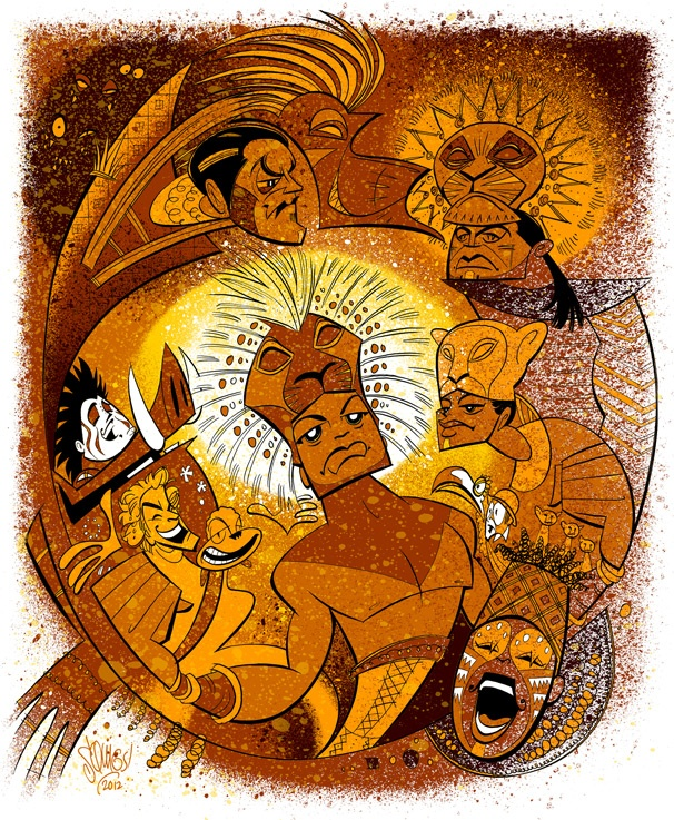 Celebrate 15 Years in the Circle of Life with Squigs' Anniversary Portrait of The Lion King