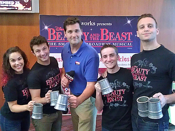 Watch Beauty and the Beast Stars Prove They Are the Toast of Louisville