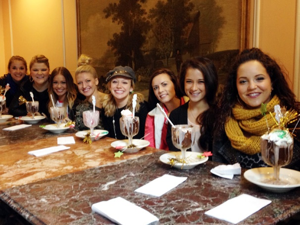 Bring It On's Leaping Ladies Sample Cheer-Inspired Sundaes at Serendipity 3