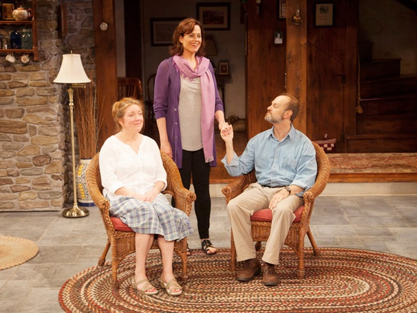 Vanya and Sonia and Masha and Spike, Starring Sigourney Weaver and David Hyde Pierce, Opens Off-Broadway