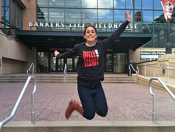 Indianapolis Jumps for Joy in Anticipation of Billy Elliot's Arrival