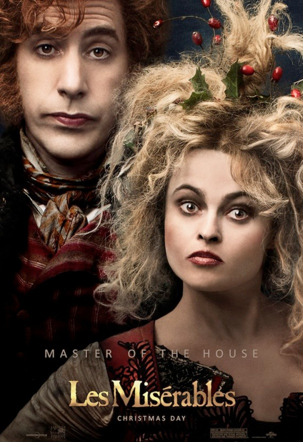 Get a Look at Helena Bonham Carter, Sacha Baron Cohen, Eddie Redmayne & More in New Les Miserables Posters