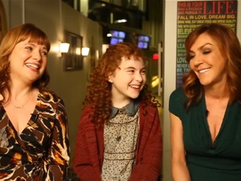 Annie Overload! Watch Andrea McArdle & Aileen Quinn Reminisce About the Hard Knock Life Alongside Lilla Crawford